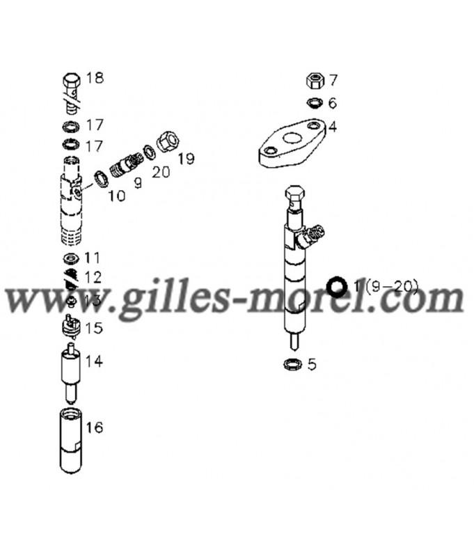 Injecteur/Gicleur Ref. 12152947