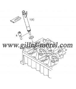 Garniture injecteur Ref. 02112387