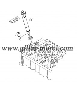 Garniture injecteur Ref. 02112389