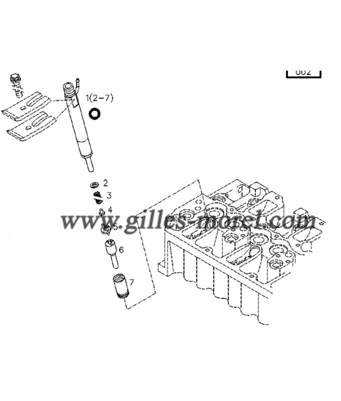 Garniture injecteur Ref. 02126846