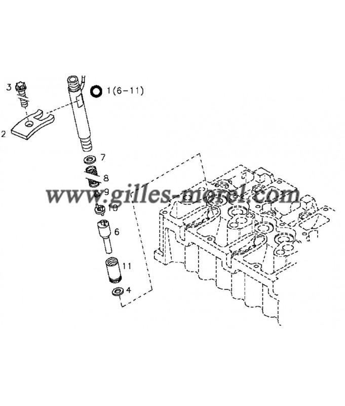 Garniture injecteur Ref. 04178015