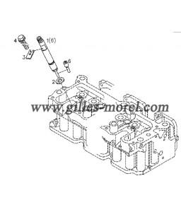 Garniture injecteur Ref. 04281859
