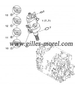 Pompe injection Ref. 01340370