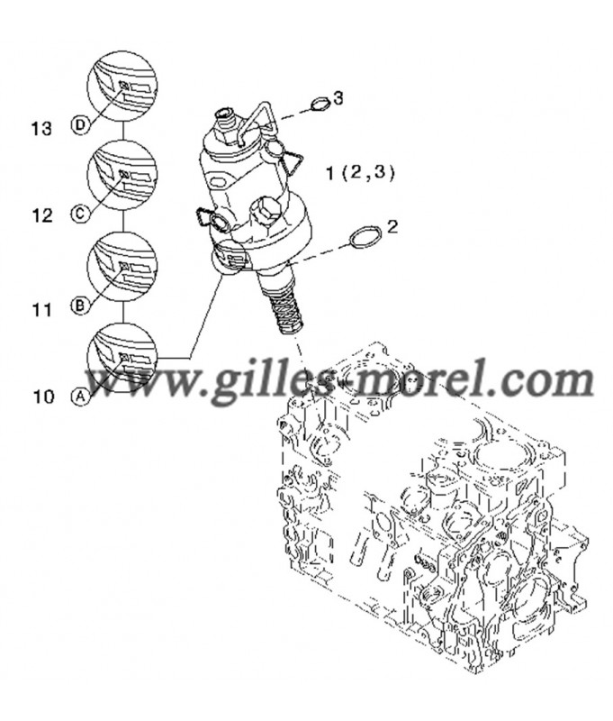 Pompe injection Ref. 01340381