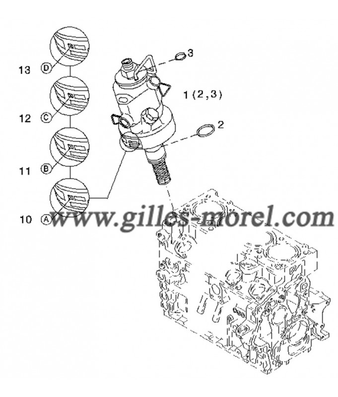 Pompe injection Ref. 01340412