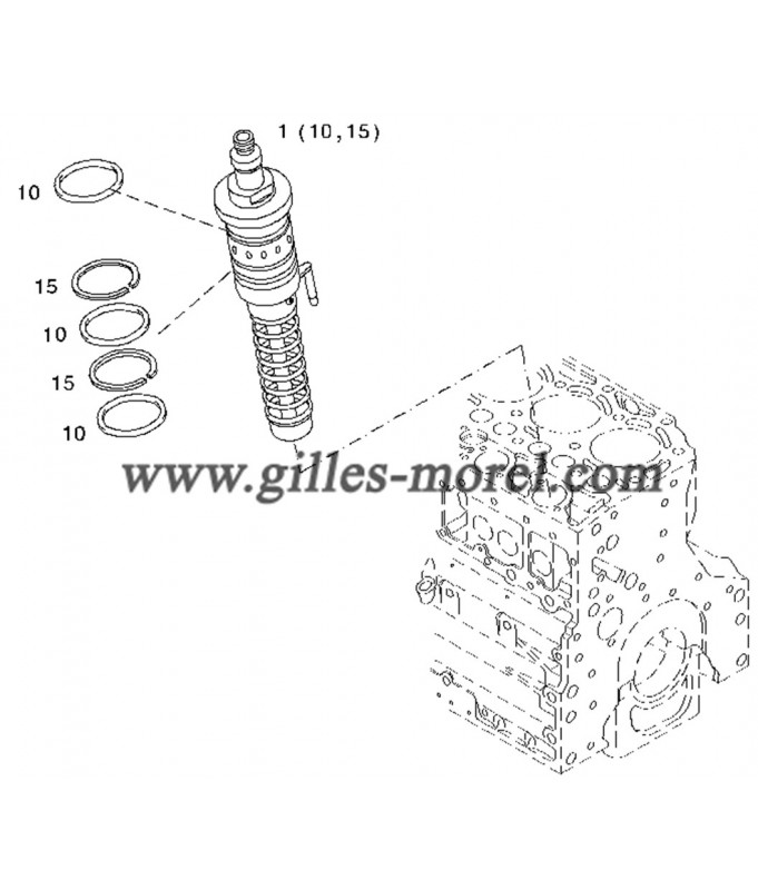 Pompe injection Ref. 02112860