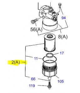 FILTRE CARBURANT I8-98143-0410