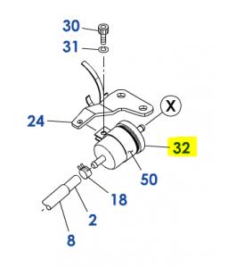 FILTRE CARBURANT K12581-43012