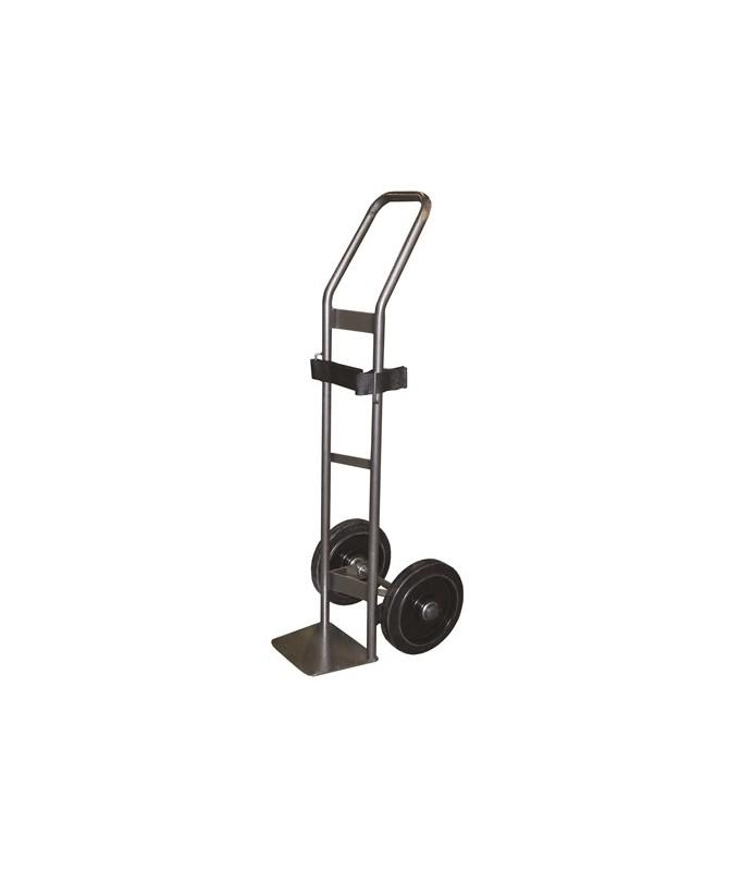 SAC15-RSN Diable pour charge cylindrique 200 kg roues caoutchouc noir (RSN)