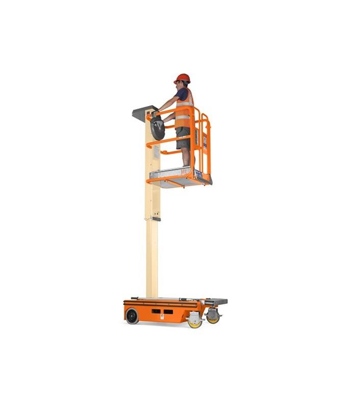 ECOLIFT Plateforme élévatrice manuelle hauteur de travail 4200 mm