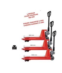 AC251000 Transpalette manuel premium 2500 kg 1000 mm /540 mm