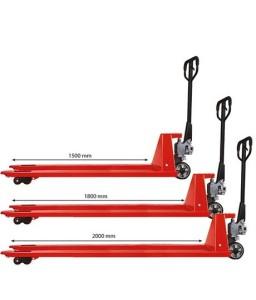 AC202000 Transpalette manuel long 2000 kg 2000 mm / 540 mm