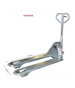 GALVAC25NBN Transpalette manuel premium galvanisé 2500 kg