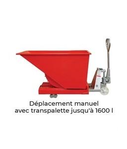 SBA1100 Benne autobasculante 1100 litres