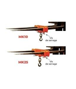 MK10 Potences pour chariot élévateur 1 T